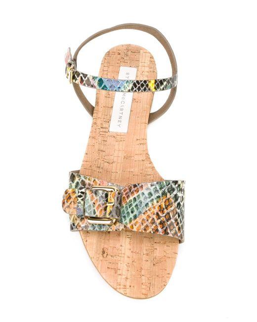 Сандалии Linda Stella Mccartney                                                                                                              многоцветный цвет