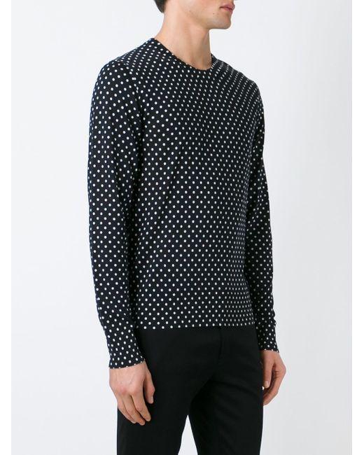 Свитер В Горошек Dolce & Gabbana                                                                                                              чёрный цвет