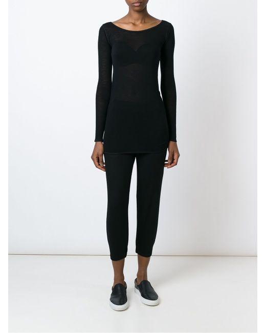 Dimler Sweater Helmut Lang                                                                                                              чёрный цвет