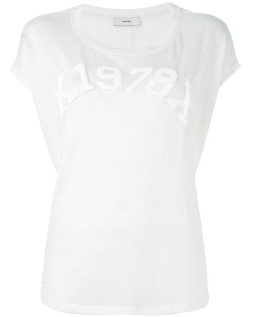 Футболка T-Zola-C Diesel                                                                                                              белый цвет