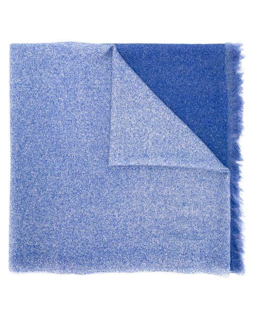 Шарф С Необработанными Краями Paul Smith                                                                                                              синий цвет
