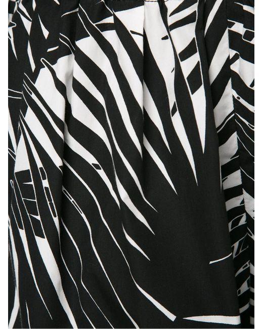 Шорты С Растительным Принтом Marc Jacobs                                                                                                              чёрный цвет