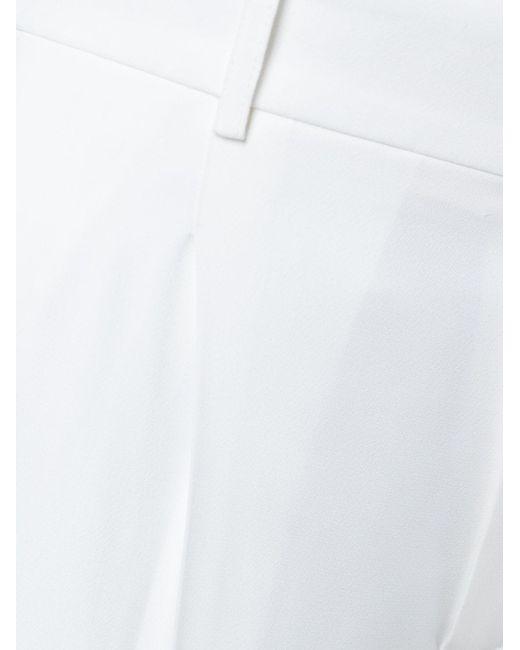 Шорты Со Складками Chloe                                                                                                              белый цвет