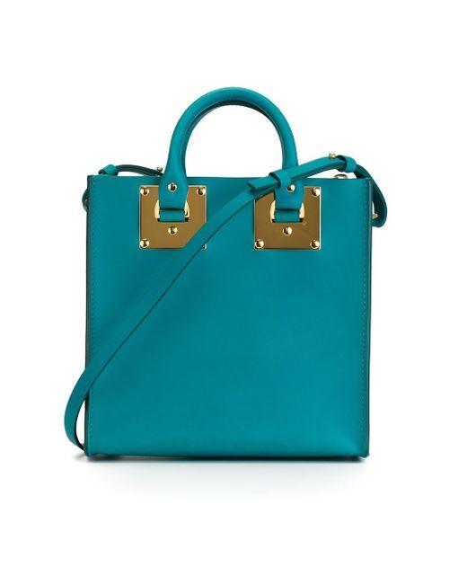 Сумка-Тоут Albion Square Sophie Hulme                                                                                                              зелёный цвет