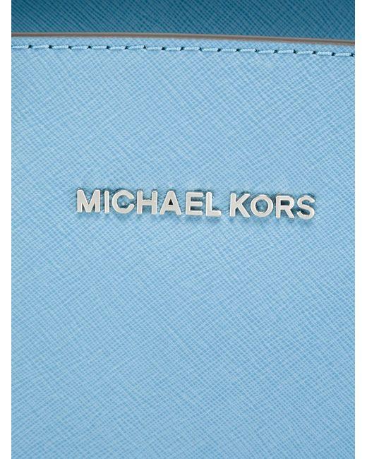 Сумка-Тоут Selma Michael Michael Kors                                                                                                              синий цвет