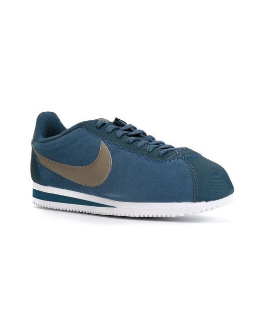 Кеды Cortez 2015 Nike                                                                                                              синий цвет