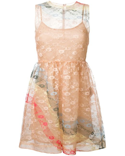 Sleeveless Lace Dress Red Valentino                                                                                                              Nude & Neutrals цвет