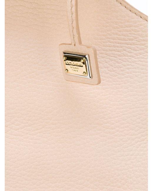 Сумка-Тоут Miss Sicily Dolce & Gabbana                                                                                                              розовый цвет