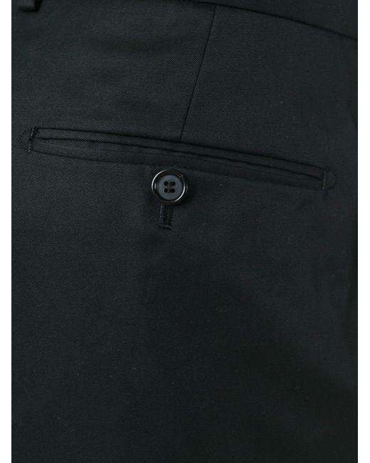 Широкие Брюки Alexander McQueen                                                                                                              чёрный цвет