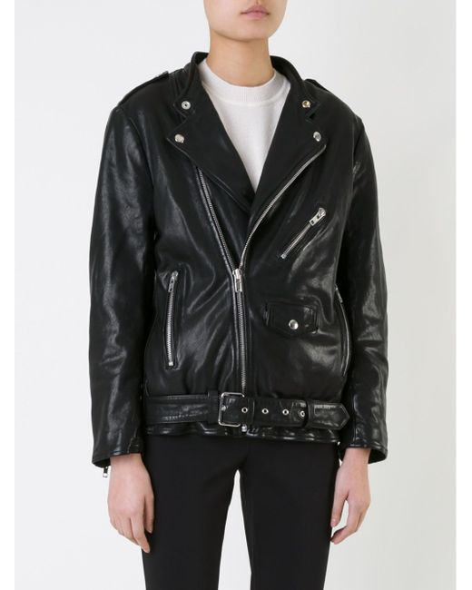Байкерская Куртка SCANLAN THEODORE                                                                                                              чёрный цвет