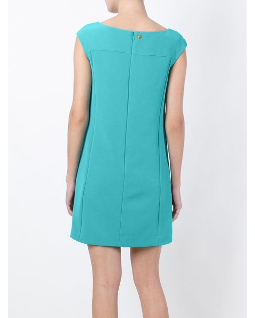 Платье А-Образного Кроя Versace Collection                                                                                                              синий цвет