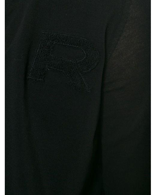 Кардиган С Круглым Вырезом Rochas                                                                                                              чёрный цвет