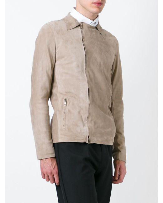 Классическая Куртка На Молнии SALVATORE SANTORO                                                                                                              Nude & Neutrals цвет