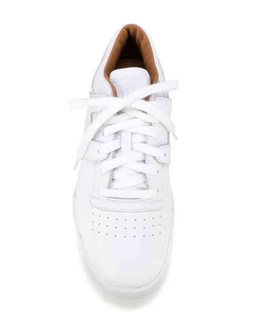 Кроссовки Workout Lo Clean Pn Reebok                                                                                                              белый цвет