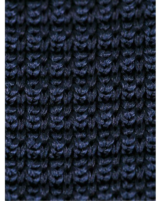 Галстук Corbata Lanvin                                                                                                              синий цвет