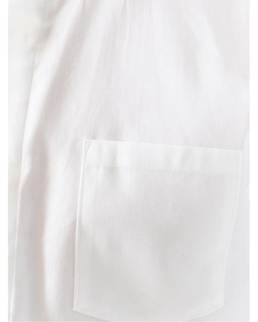 Рубашка С Рукавами Три-Четверти Won Hundred                                                                                                              белый цвет