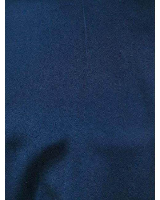 Блузка С Короткими Рукавами P.A.R.O.S.H.                                                                                                              синий цвет