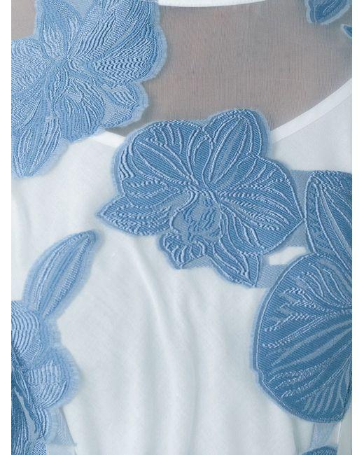Платье Paramore P.A.R.O.S.H.                                                                                                              синий цвет
