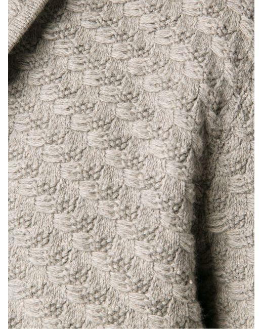 Фактурный Трикотажный Кардиган MAX 'N CHESTER                                                                                                              серый цвет