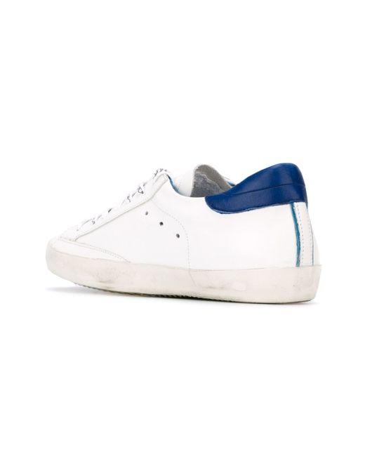 Кеды На Шнуровке Philippe Model                                                                                                              белый цвет