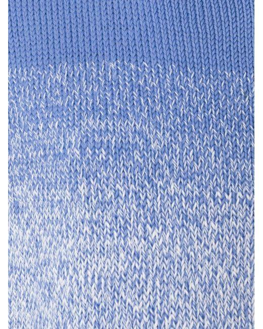 Свитер С Тонально-Градиентным Эффектом Vince                                                                                                              синий цвет