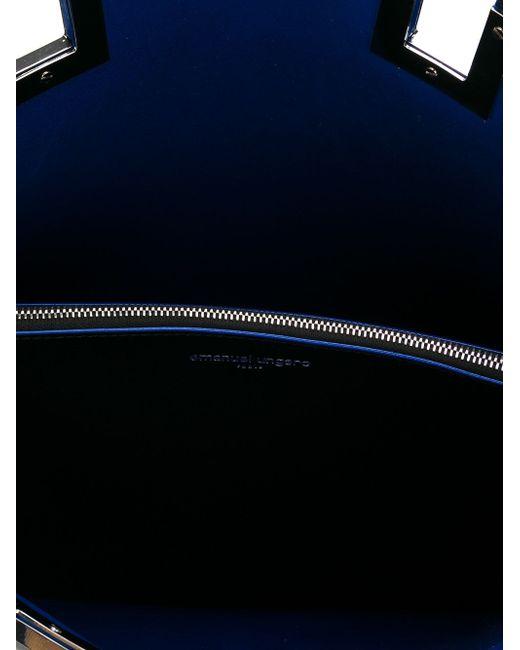 Классическая Сумка-Тоут Emanuel Ungaro                                                                                                              чёрный цвет