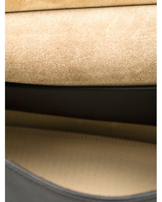 Сумка-Тоут Mini Ave Derek Lam 10 Crosby                                                                                                              чёрный цвет