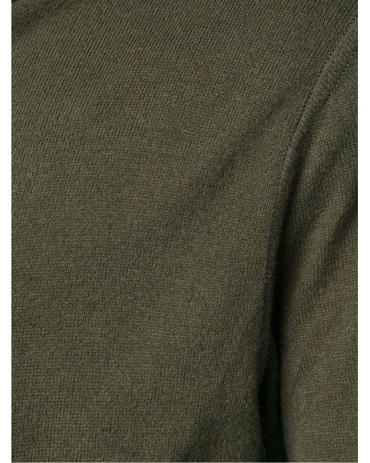 Кардиган На Молнии Rick Owens                                                                                                              зелёный цвет