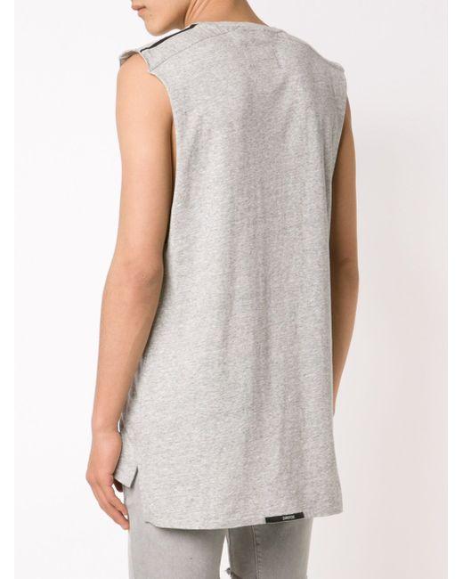 Футболка Twin Flintlock Muscle ZANEROBE                                                                                                              серый цвет