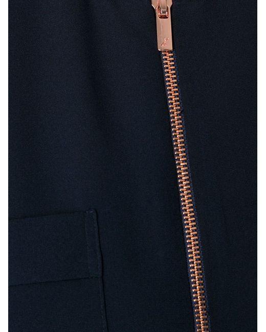 Блузка Secret Vice GINGER & SMART                                                                                                              синий цвет
