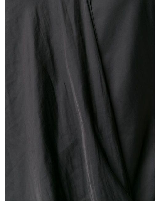 Драпированный Топ Cedric Charlier                                                                                                              чёрный цвет