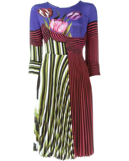 Платье Valhi Mary Katrantzou                                                                                                              синий цвет