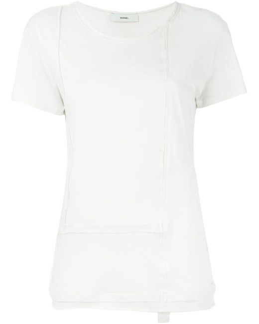 Футболка T-Munro Diesel                                                                                                              белый цвет