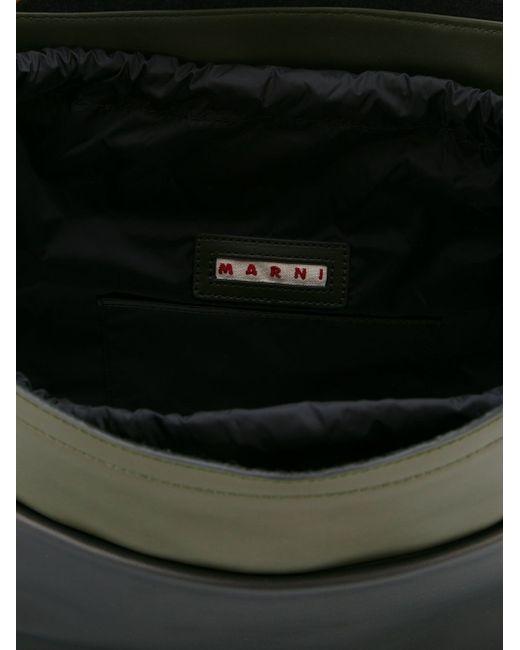 Сумка-Тоут Strap Bag Maxi Handle Marni                                                                                                              зелёный цвет