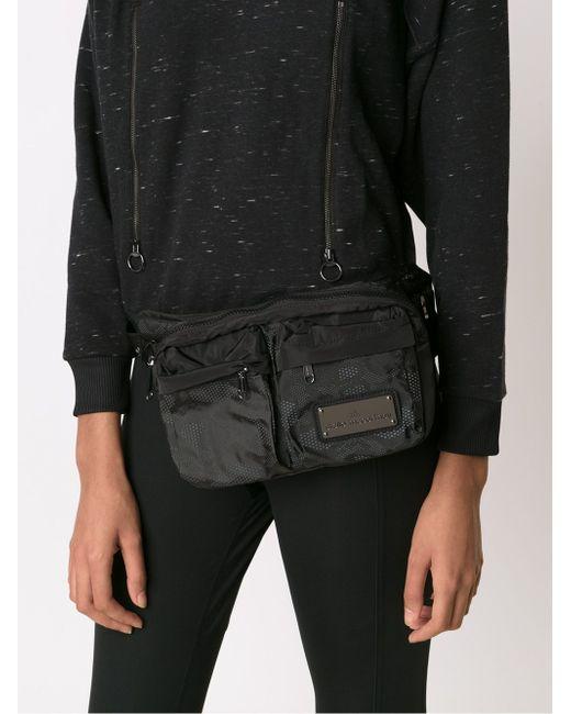 Zipped Bum Bag Adidas By Stella  Mccartney                                                                                                              чёрный цвет
