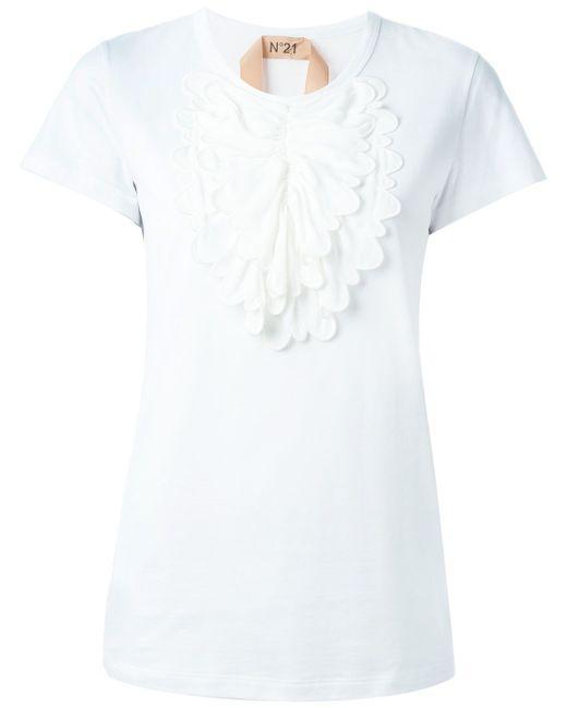 Рубашка С Нагрудником No21                                                                                                              белый цвет