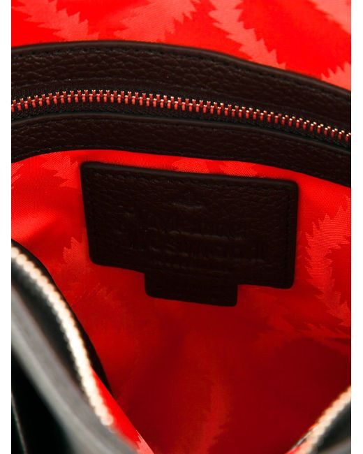 Квадратная Сумка-Почтальонка Vivienne Westwood                                                                                                              чёрный цвет