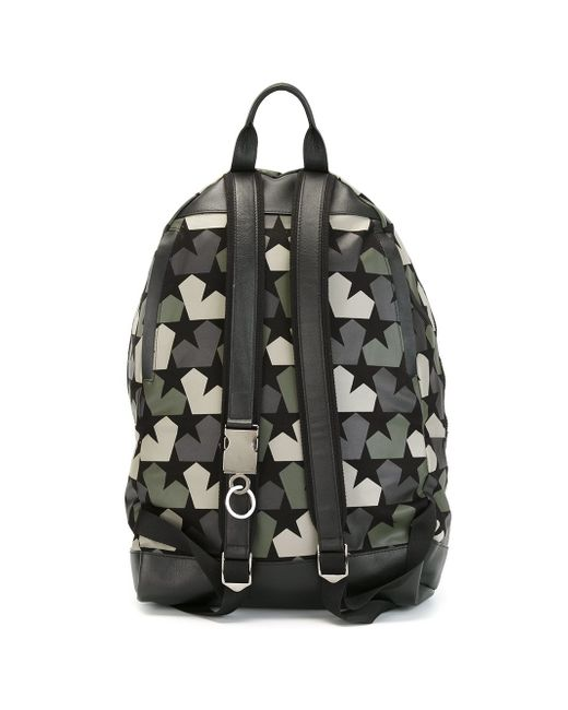 Рюкзак С Принтом Звезд Ports                                                                                                              чёрный цвет