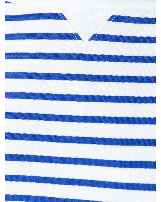 Платье А-Образного Кроя В Полоску Sacai                                                                                                              белый цвет