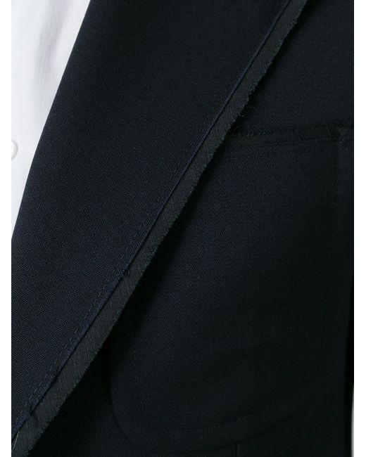 Пиджак С Застежкой На Две Пуговицы Alexander McQueen                                                                                                              чёрный цвет