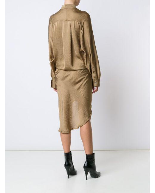 Платье С Воротником-Стойкой Haider Ackermann                                                                                                              Nude & Neutrals цвет
