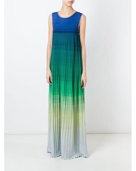 Платье С Тонально-Градиентным Эффектом Missoni                                                                                                              многоцветный цвет