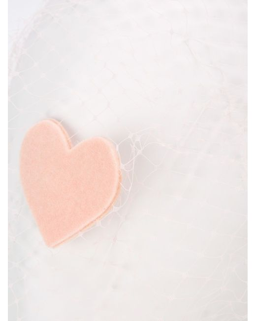 Ободок Для Волос С Вуалью Red Valentino                                                                                                              розовый цвет