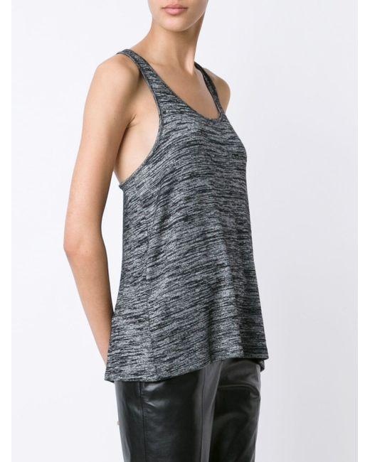 Топ С Закрученным Дизайном Rag & Bone/Jean                                                                                                              чёрный цвет