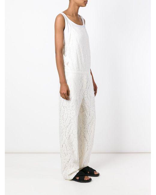 Lace Jumpsuit No21                                                                                                              белый цвет