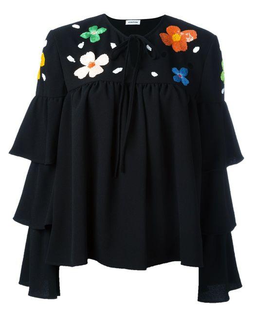 Блузка С Пайетками Au Jour Le Jour                                                                                                              чёрный цвет