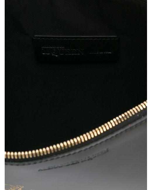 Клатч С Ремешком На Запястье Alexander McQueen                                                                                                              чёрный цвет