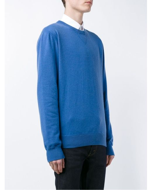 Cashmere Jumper Dolce & Gabbana                                                                                                              синий цвет