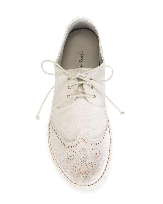 Броги Со Шнуровкой Marsell                                                                                                              белый цвет