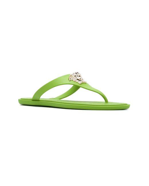 Medusa Flip Flops Versace                                                                                                              зелёный цвет
